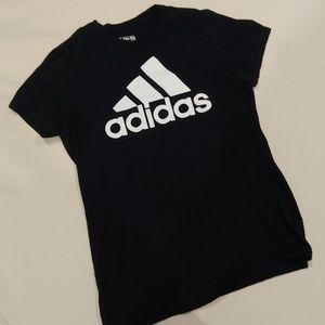 Adidas ▪️Classic Black and White TShirt - SZ Med